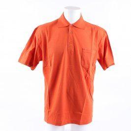 Pánské polo Dynamic odstín oranžové