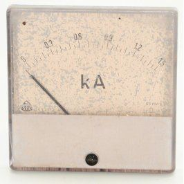 Magnetoelektrický ampérmetr Metra do 1,5 kA
