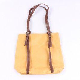 Dámská kabelka Oriflame odstín žluté a zlaté