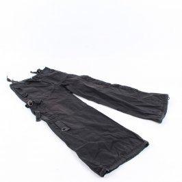 Dětské kalhoty H&M kapsáče černé