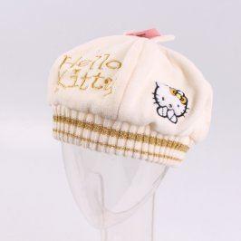 Dětská čepice Sanrio baretka Hello Kitty