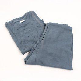 Dětské pyžamo Fine horse odstín šedé