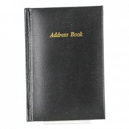 Adresář černý Adress book