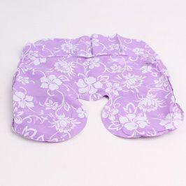 Nafukovací polštářky za krk 2 ks fialové