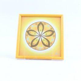 Léčivá mandala Energetický zářič pro 3.čakru