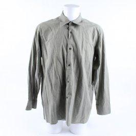 Pánská košile Šohaj světle zelená