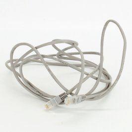 Propojovací UTP kabel RJ45 šedý délka 300 cm