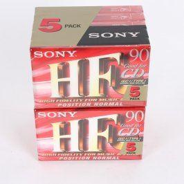 Audiokazety Sony HF 90 min