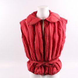 Plovací vesta s páskem červená