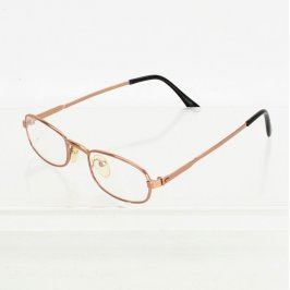 Dioptrické brýle měděné barvy