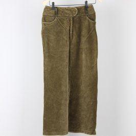 Dámská dlouhá sukně odstín zelené