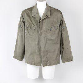 Pánská bunda odstín khaki