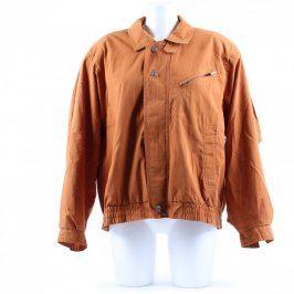 Pánská jarní bunda odstín hnědé