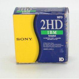 Diskety Sony 10MFD-2HDcf 1,44