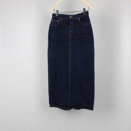 Dámská dlouhá sukně Marks & Spencer džínová