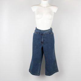 Dámské 3/4 džíny odstín modré