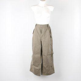 Pánské kalhoty Michino odstín hnědé
