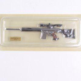 Model odstřelovačské pušky PSG-1