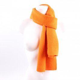 Dámská šála Whoop oranžová