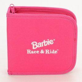 Pouzdro na CD Barbie Race & Ride růžové