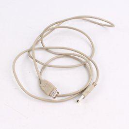 Prodlužovací USB kabel šedý délka 170 cm