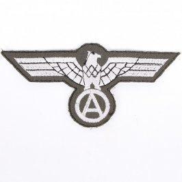 Nášivka na uniformu Bundeswehr stříbrná