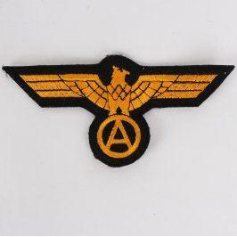 Nášivka na uniformu Bundeswehr zlatá