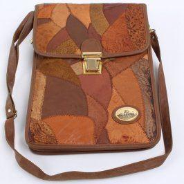 Crossbody taška G. Leoni odstín hnědé
