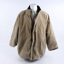 Pánský kabát Woolpecker béžový