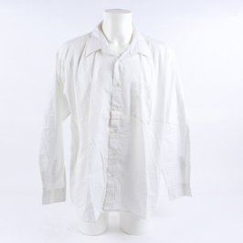 Pánská košile bílá AMJ classic