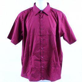 Pánská košile bordó AMJ classic