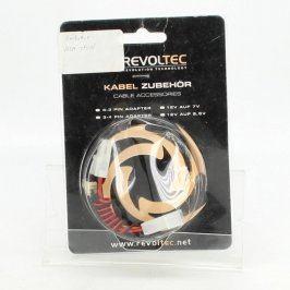 Redukce Revoltec 4 pin MOLEX / 3 pin FAN