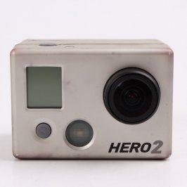 Akční kamera GoPro Hero 2 stříbrná