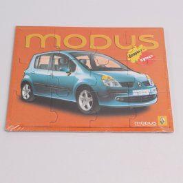 Propagační puzzle Renault Modus
