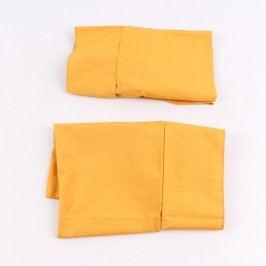 Potahy na židle oranžové 2 kusy