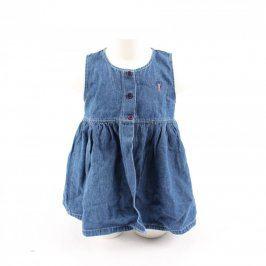 Dětské šaty Mackays džínové modré