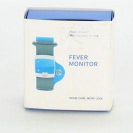 Monitor teploty na ruku k telefonu