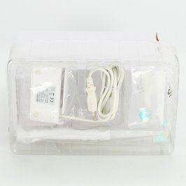 Elektrický zubní kartáček bílé barvy