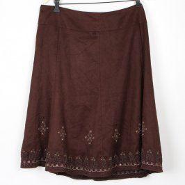 Dámská sukně Marks & Spencer hnědá