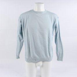 Pánský svetr John F. Gee světle modrý