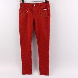 Dámské džíny Janina odstín červené