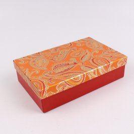 Papírový box k zabalení dárku