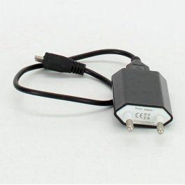 Nabíječka USB 2.0 micro černá