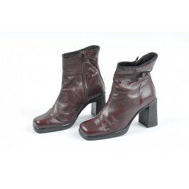 Dámské boty 5th Avenue hnědé
