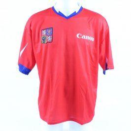 Fotbalový dres Canon červenomodré barvy