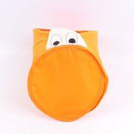 Úložný box na hračky odstín oranžové