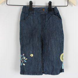 Dětské džíny In Extenso modré s výšivkou