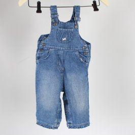 Dětské džíny s laclem J.f.b. modré
