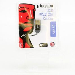 USB 2.0 microSD čtečka Kingston FCR-MRB