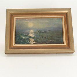 Obraz v rámu Loď na moři
